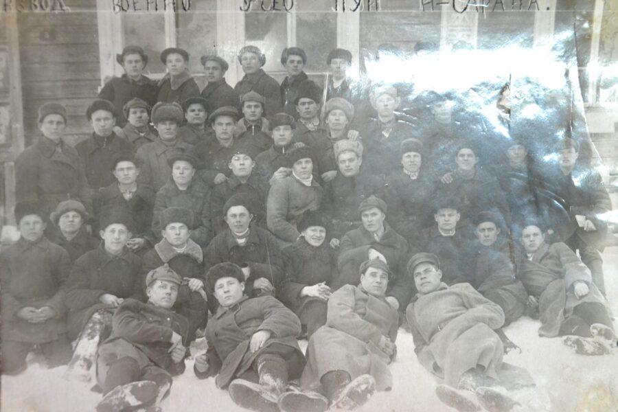 Военно-учебный пункт в поселке Нижняя Сарана  в годы Великой Отечественной войны