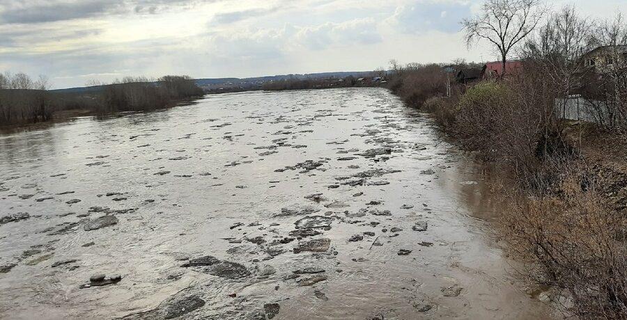Ледоход на реке Уфе