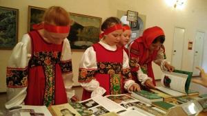 Выставка книг Бажова