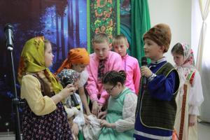 Ожившие сказы Бажова - открытие Ночи музеев (1)