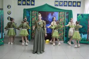 Ожившие сказы Бажова - открытие Ночи музеев (4)